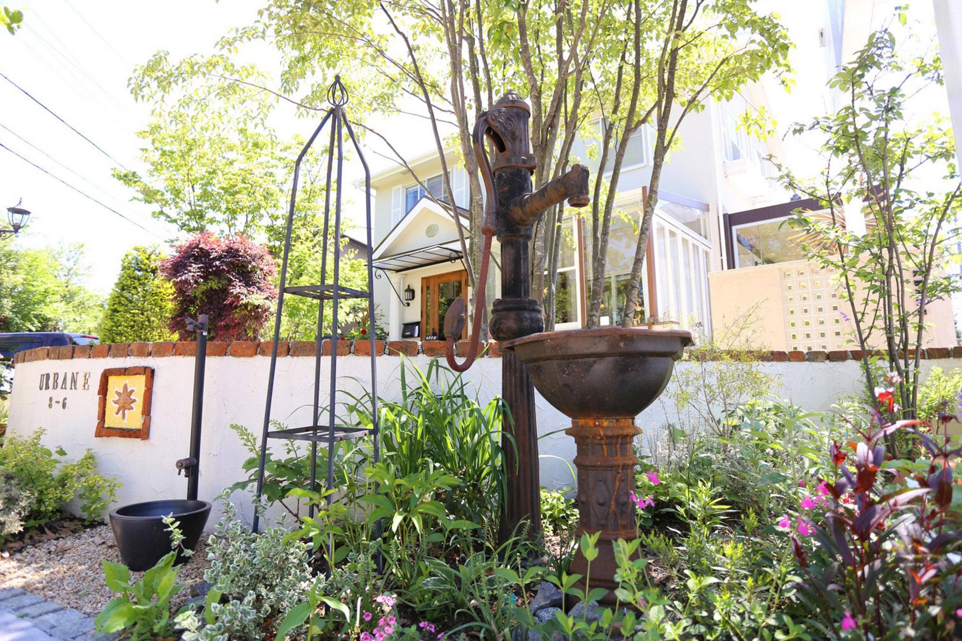 UEBANE(アーベイン)外構|庭造り|三重県津市006